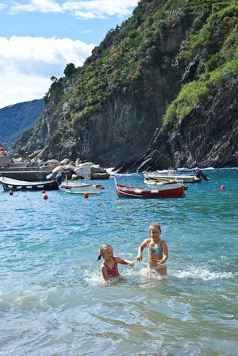 пляжик в Вернаццо